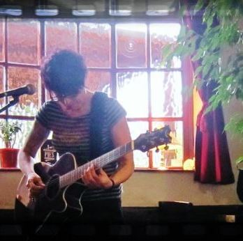 Acoustic set at The Imp, Bristol Oct 2013