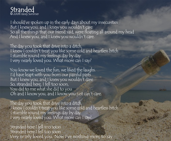 Lyrics - Stranded
